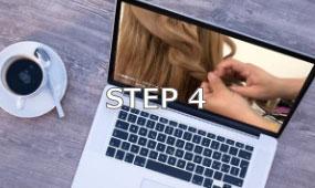 オンライン受講の流れステップ4